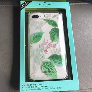 NWT Kate Spade iPhone plus case